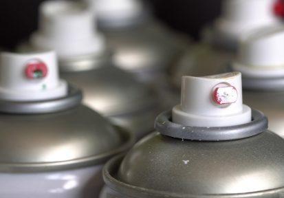 Household Hazardous Waste - Aluminum Aerosol Cans. Disposing of Empty Paint Spray Bottles