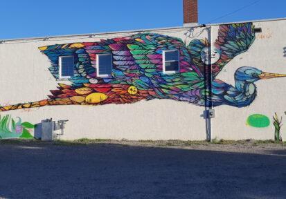 Local Mural: Bird of Hope