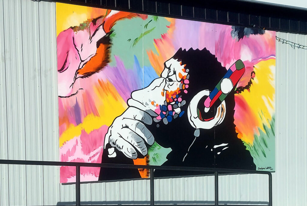 Local Mural: George