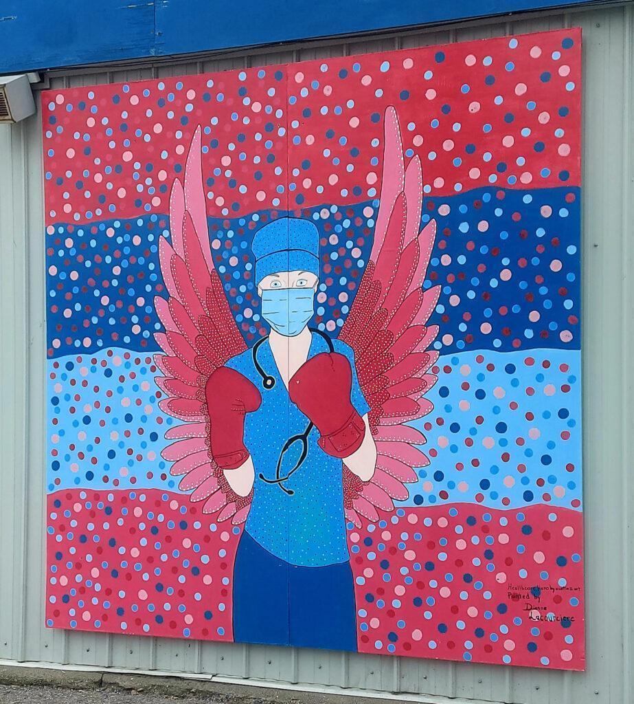 Local Mural: Healthcare Hero
