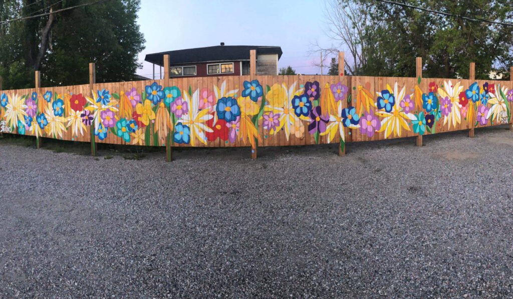 Local Mural: Mama Wolf's Garden