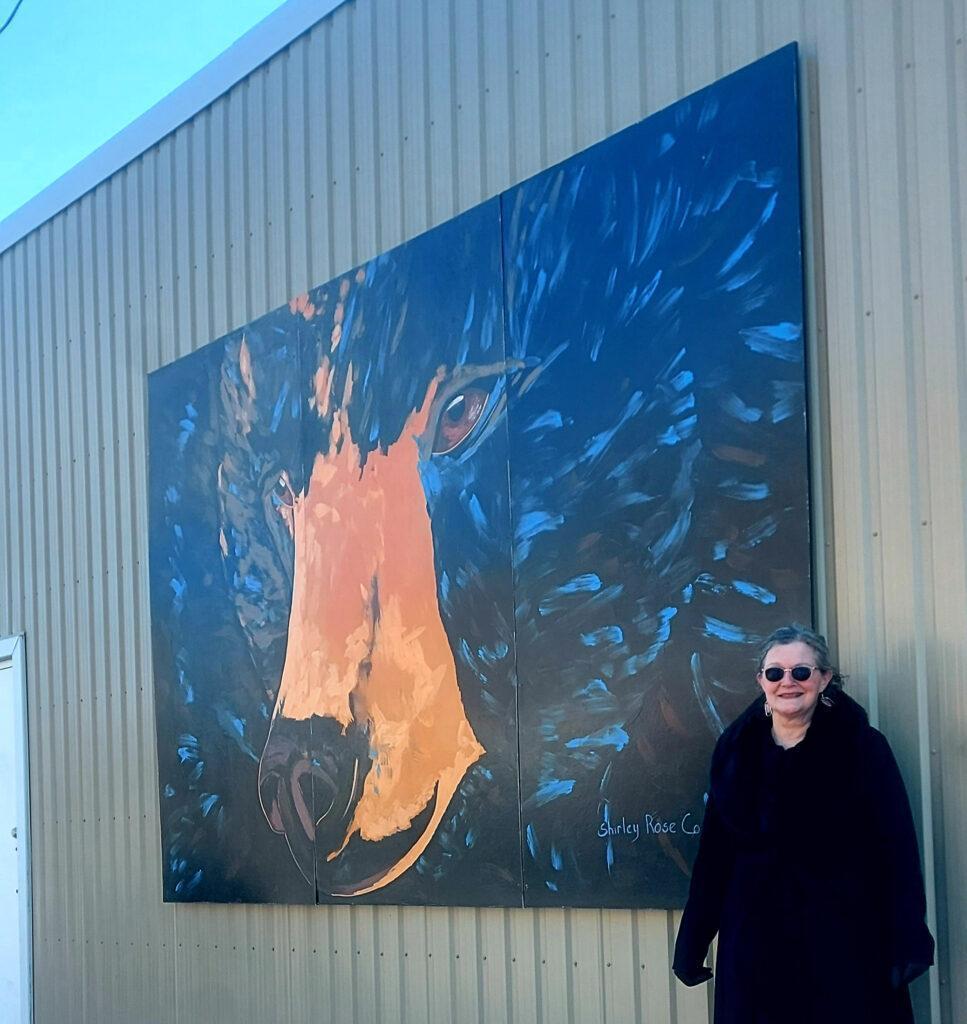 Local Mural: Martin the Friendly Bear