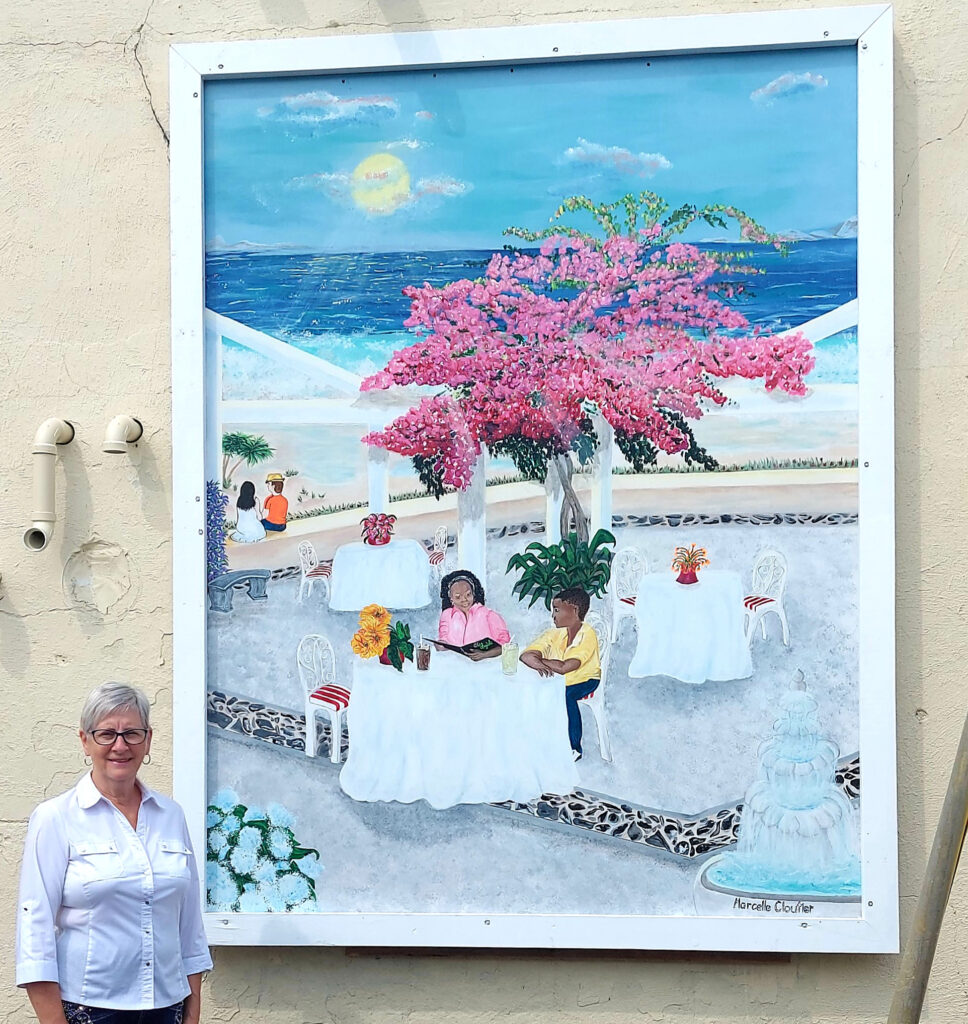 Local Mural: A Time to Relax
