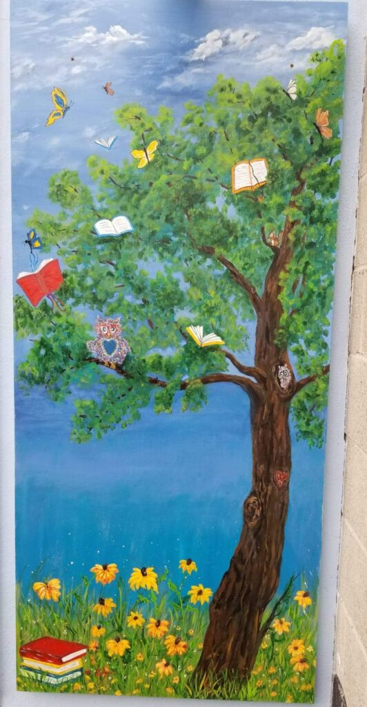 Local Mural: Soaring to New Adventures