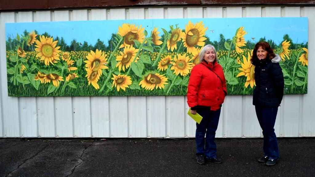 Local Mural: Sunflowers