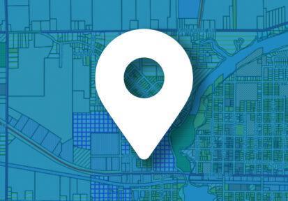 Map icon - zoning