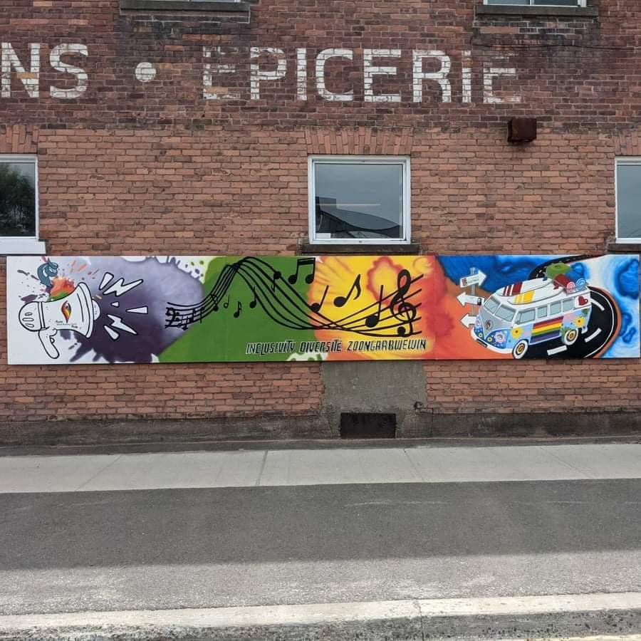 Local Mural: Pride, Inclusivity